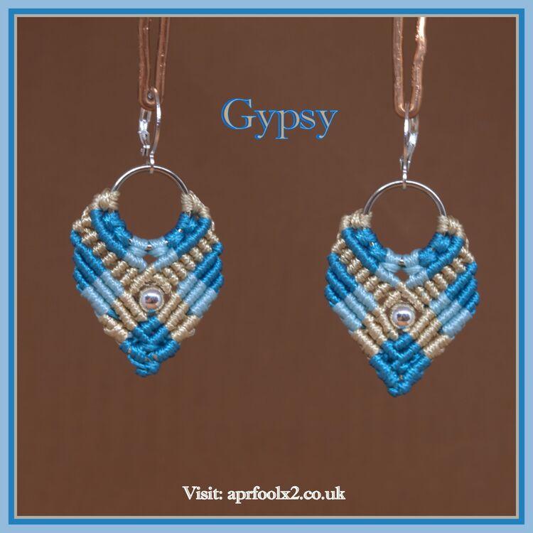 Gypsy Macramé Earrings