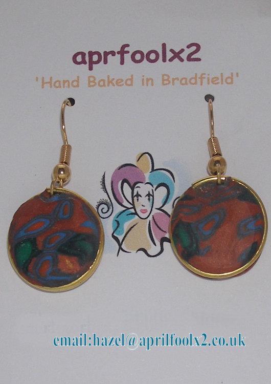 Copper Sky earrings