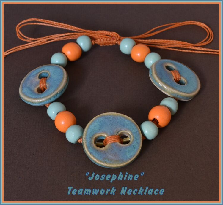 """Josephine"" Teamwork Necklace"