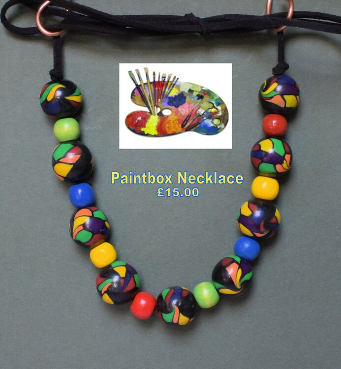 """Paintbox Necklace"""