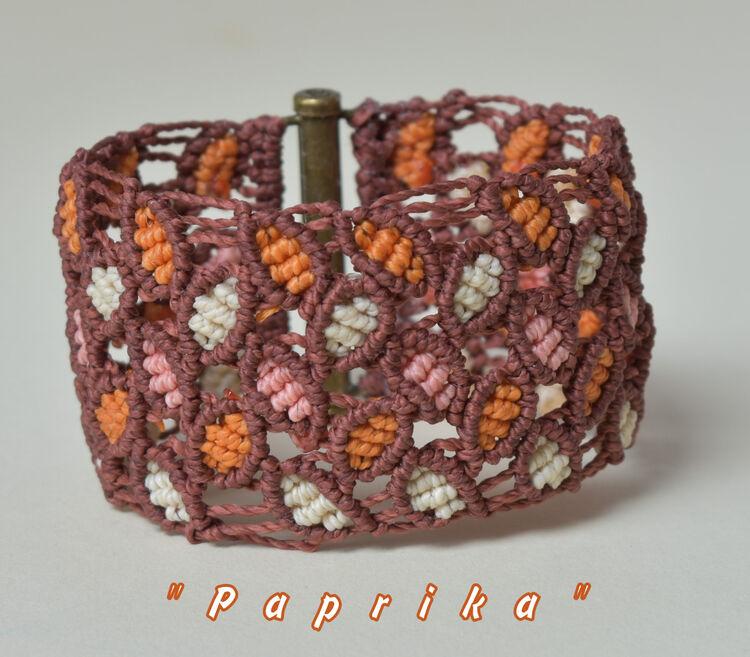"""""""Paprika"""" Macrame Bracelet (16832298)"""