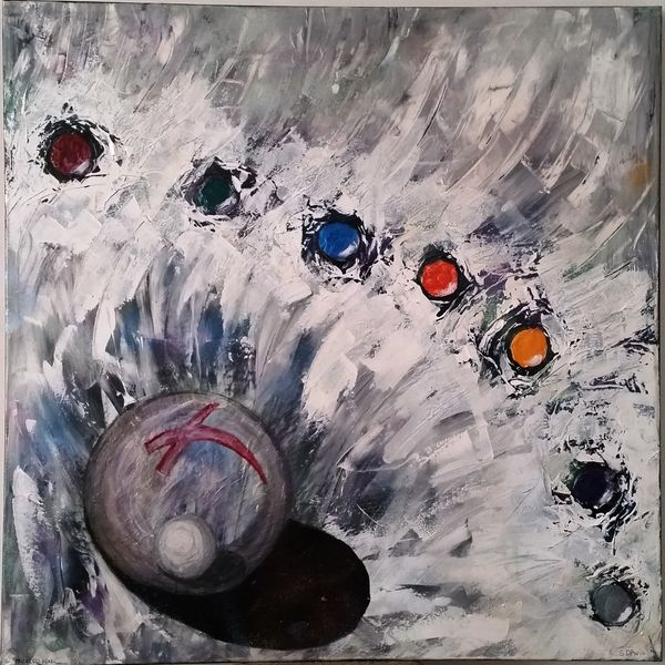 Name - PRICELESS PEARL  (40in x 40in) AU$1,500.00 Acrylic