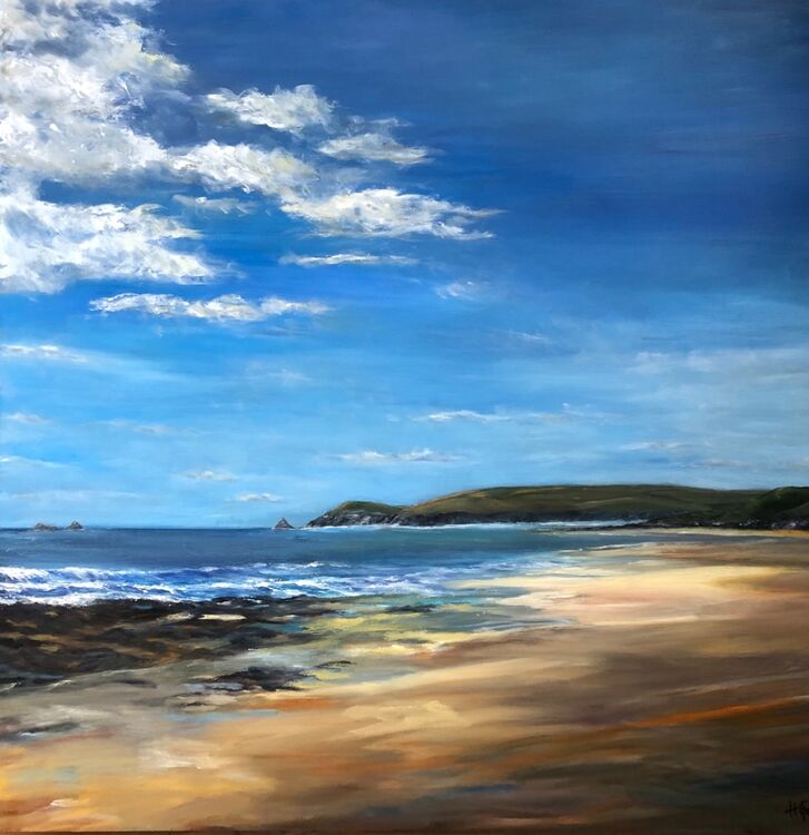 Clouds Floating over Constantine Bay - SOLD