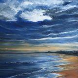 Early evening on Elie Beach