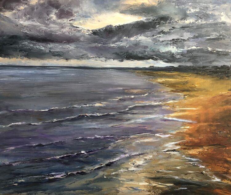 Elie Beach At Dusk