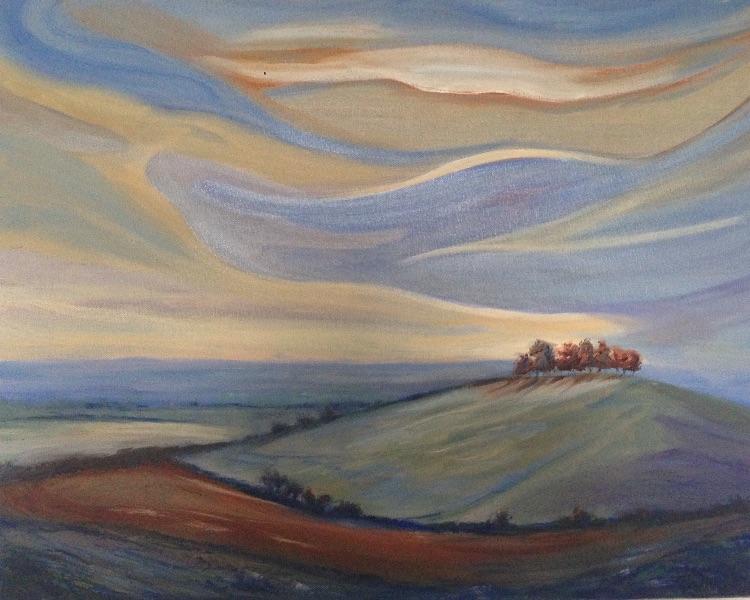 Kelston Roundhill at Sunrise