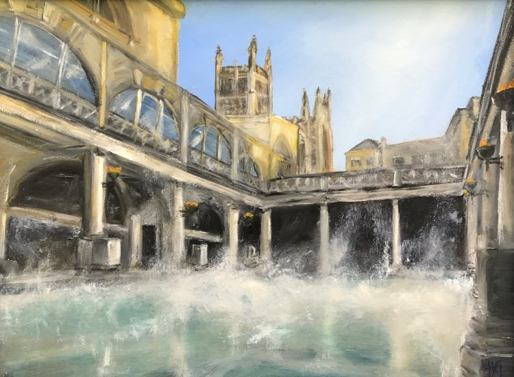 Roman Baths, Bath.