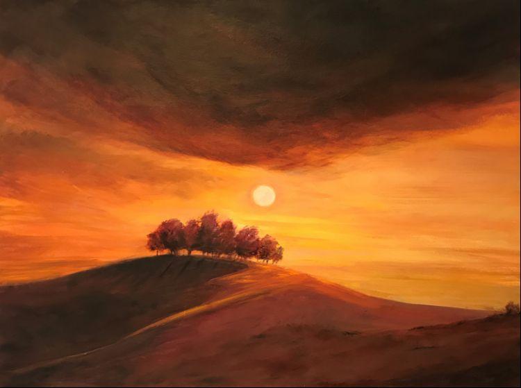 Sunrise over Kelston Roundhill 2