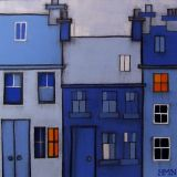 High Street by Moonlight - SOLD