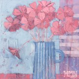 Pink Primroses - SOLD