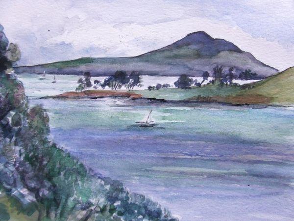 Diana Holland. Rangitoto Island,New Zealand.