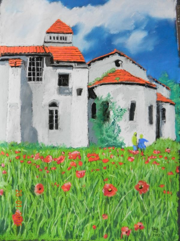 Van Gogh's Asylum, St Paul de Vence