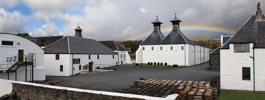 Ardbeg with Rainbow, Isle of Islay