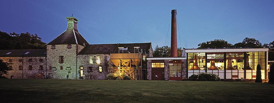 Aberfeldy Distillery at Night, Highlands