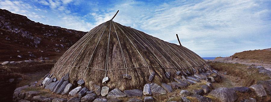 Bosta Iron Age Hosue, Isle of Lewis