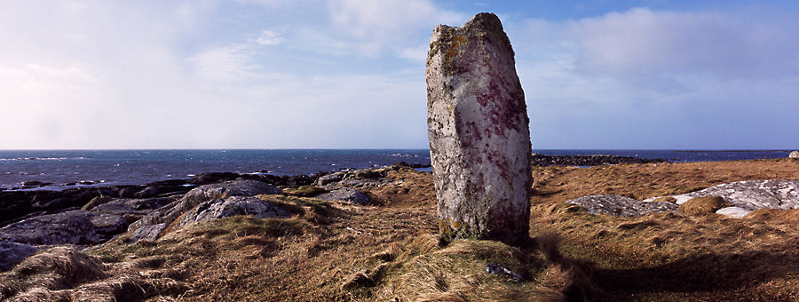 Standing Stone, Pollachar, South Uist