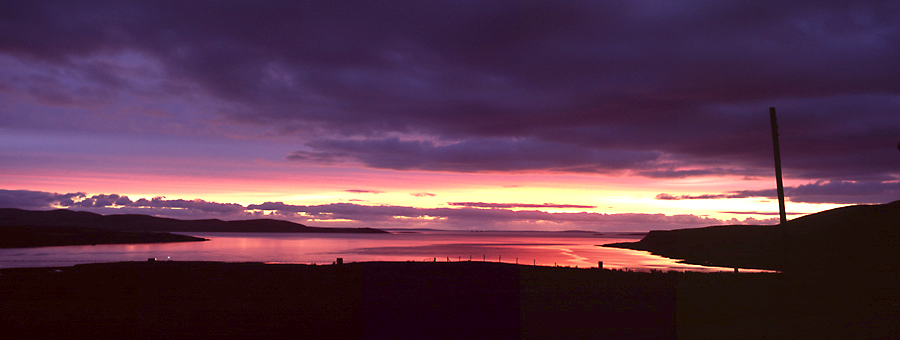 Afterglow, Hoy, Orkney Islands