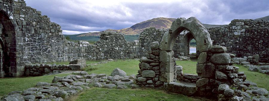 Loch Doon Castle, Ayrshire