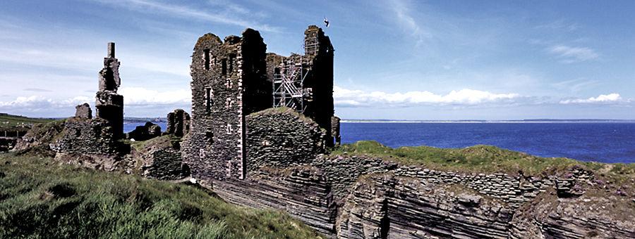Sinclair Castle, North Highlands