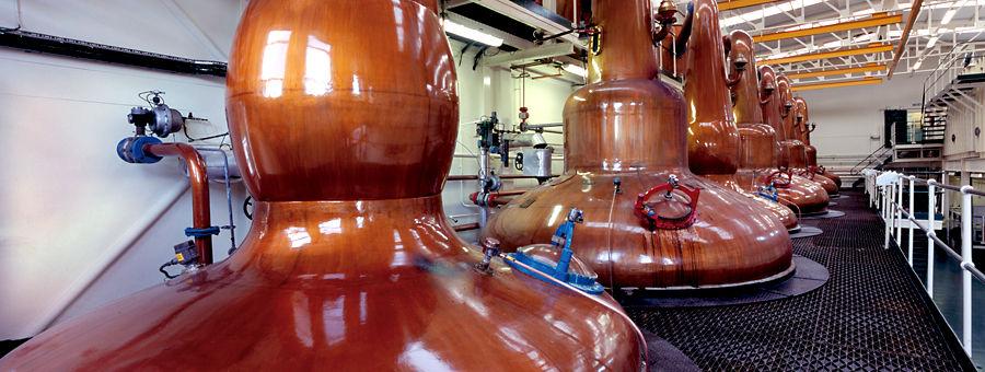 Stillhouse, Glen Grant Distillery, Speyside