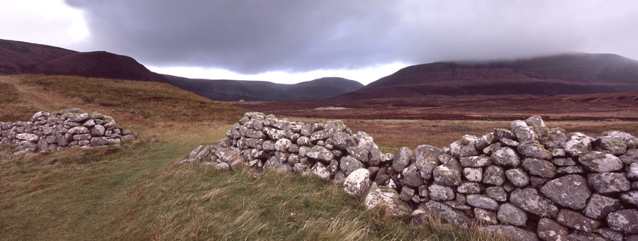 Stone Wall and Gate, Hoy, Orkney Islands