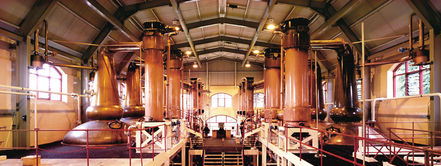 The Cathedral, Glen Rothes Distillery, Speyside