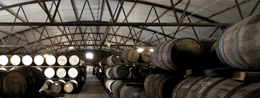 Bruichladdich Distillery at Night, Isle of Islay