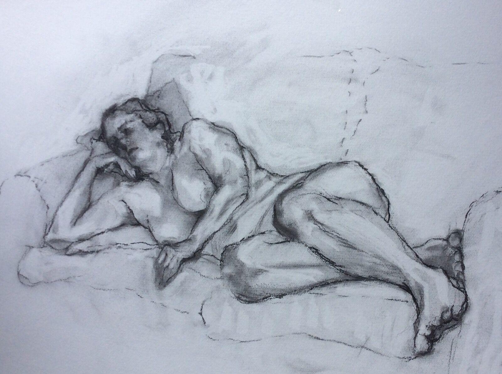 Female Figure Reclining