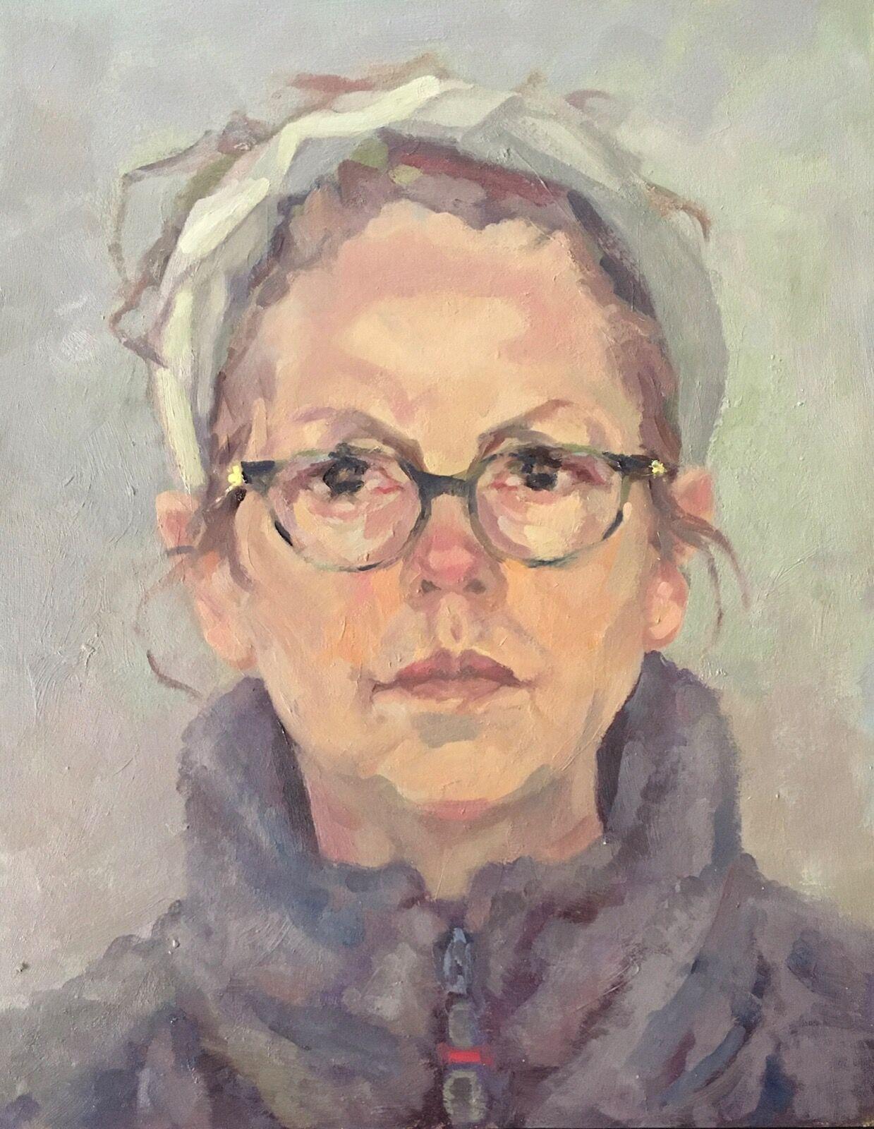 Self Portrait, Winter Solstice