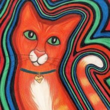 'HYPNOTIC HARRY KITTY CAT' - SOLD