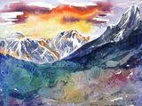 Everest Watercolour