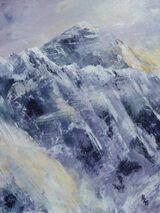 Everest with Nuptse Ridge - Acrylic