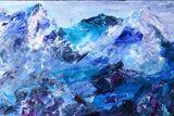 Himalayan Panorama -  Acrylic
