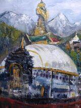Stupa Lukla Region