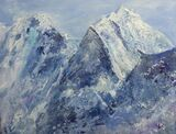 Thamserku Himal  - Oil