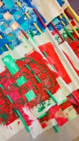 Y1-2 Woven Prayer Flags