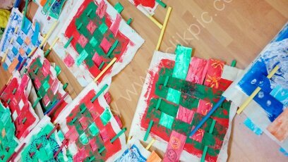 Y1-2 Woven Prayer Flags (4)
