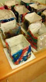 Y15-6 Clay Boxes with pattern work (4)