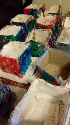 Y15-6 Clay Boxes with pattern work (6)