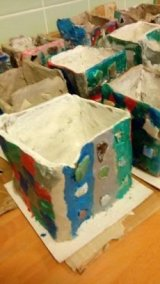 Y15-6 Clay Boxes with pattern work (3)