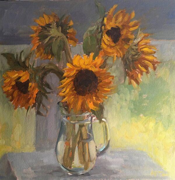 A Summer of Sunflowers