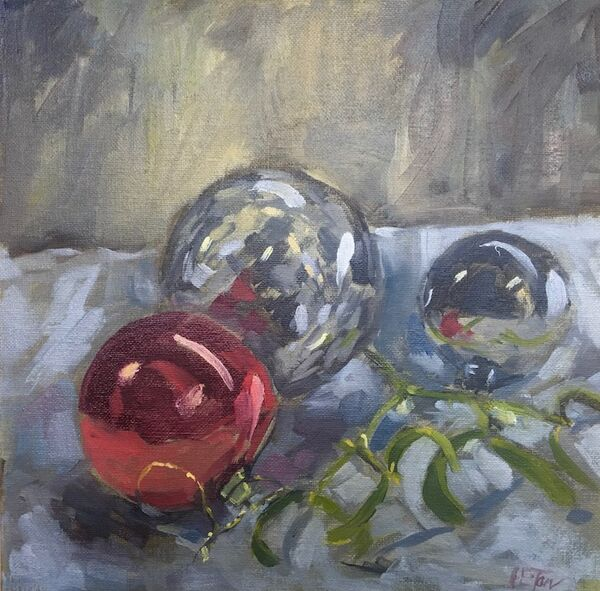 Baubles and Mistletoe