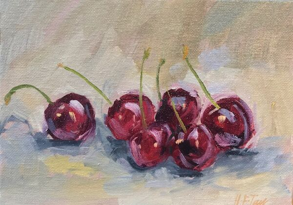 Cherries (five plus one)