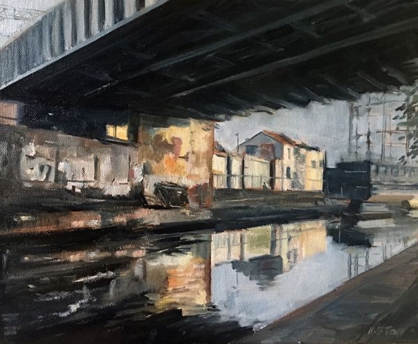 Regents Canal at Bethnal Green