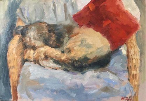 Dudley Sleeping
