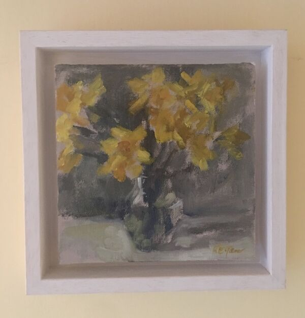 Small Study of Daffodils in Daylight
