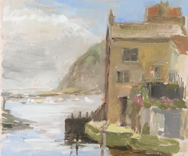 House on the Beck at Staithes