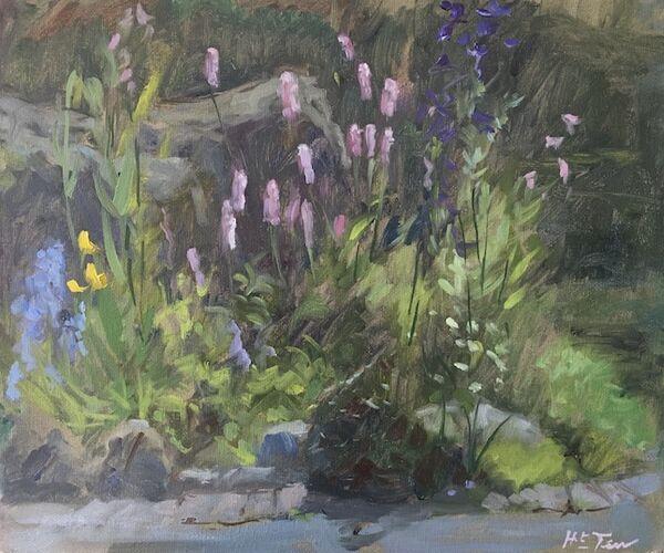 Persicaria in the Front Garden