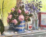 Roses in a Cornish Jug