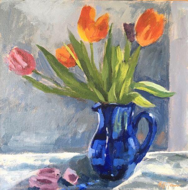 Tulips in Sunshine